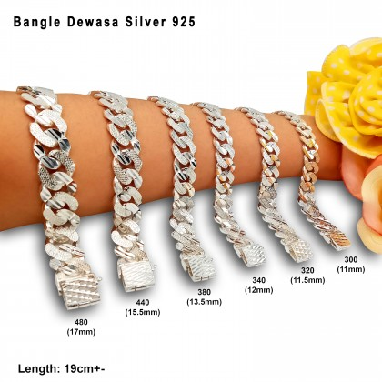 BANGLE SILVER 925 MEN/WOMEN