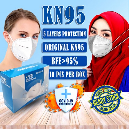 KN95 MASK 5 LAYERS PROTECTION KN95 FACE MASK READY STOCK