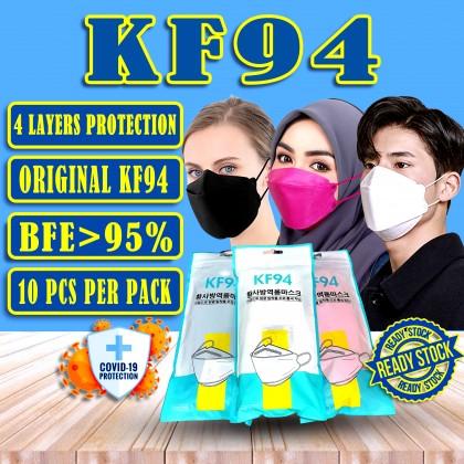 KF94 MASK 4 LAYERS PROTECTION KF94 FACE MASK READY STOCK
